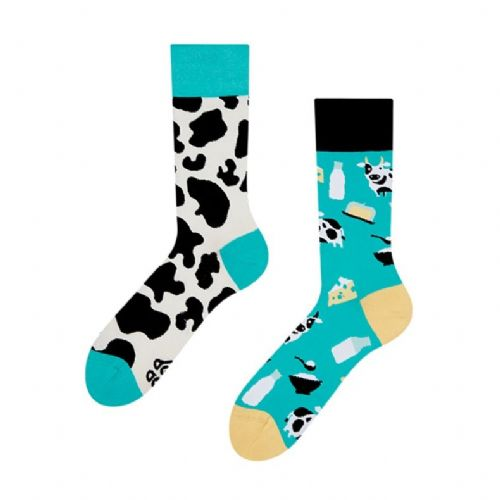 Good Mood | Adult Regular Socks | Cow